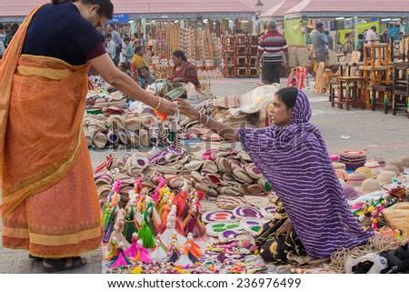 Kolkata West Bengal India November 23rd 2014 Unidentified