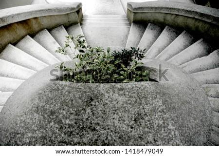 Komanda Stairs, Komando Merdivenleri, istanbul, Turkey Zdjęcia stock ©