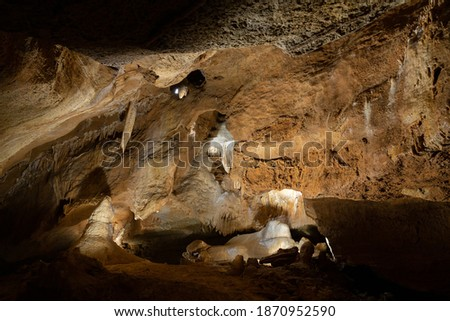 Koneprusy Caves - impressive landmark of Bohemian Karst created by nature, Czech Republic .. Stock photo ©