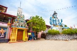 Koneswaram Temple also known as Dakshinakailasha is a classical medieval Hindu temple dedicated to Lord Shiva in Trincomalee,  Sri Lanka