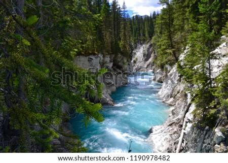 Kootenay National Park near Banff, Canada. #1190978482