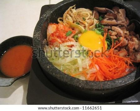 Korea Food - Bimbimba