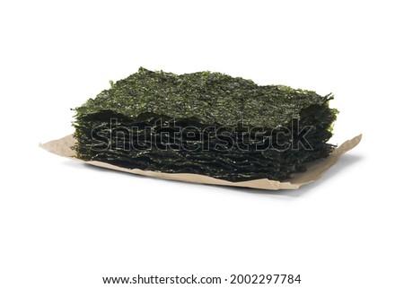 korea food dried seaweed gim