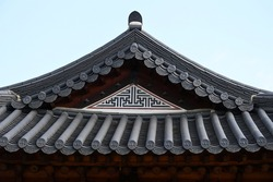 KOREA roof with beautiful lines