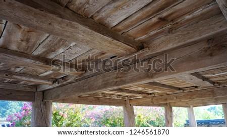 korea traditional house #1246561870