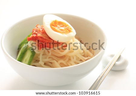 korean cuisine, Kongguksu cold noodle for summer food