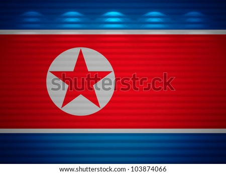 Korean flag wall, abstract background