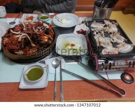korean food korean dinner korean a meat casserole