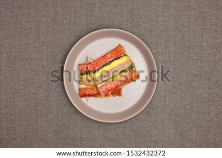 Korean food, korean pancake (Sanjeok).