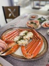 Korean food, snow crab, crustacean seafood