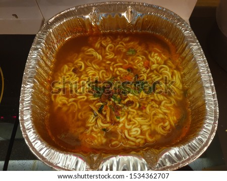 Korean Instant Ramen (Instant Noodles)