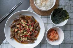 Korean Soy Sauce Pickled Shrimp