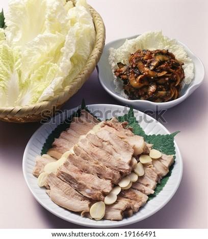 Korean Steamed Food