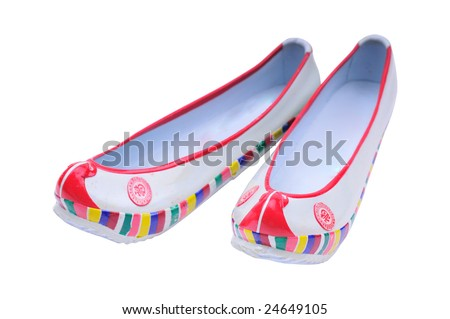 korean traditional womens rubber shoes-this pretty shoes can wear with
