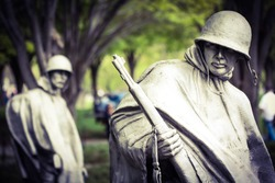 Korean War Memorial in Washington, DC