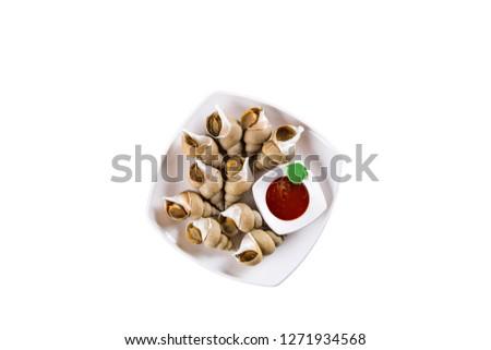 korean whelk food
