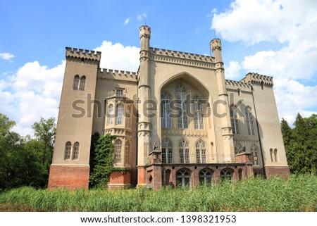 Kornik Castle in Poland. Greater Poland province (Wielkopolska). #1398321953