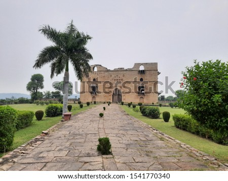 kosak mahal chanderi a historic monument