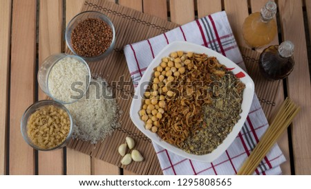 koshari Egyptian food
