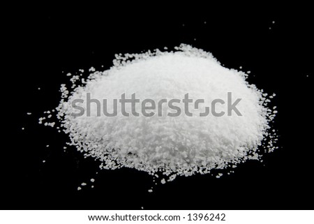 Kosher salt pile