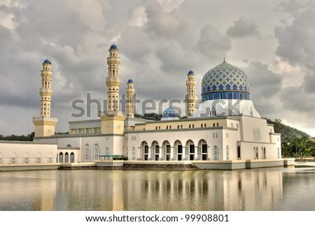 Kota Kinabalu City Mosque Borneo Malaysia