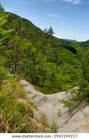 Kotli, Istria, Croatia Strange Hill suranded with nature. Zdjęcia stock ©