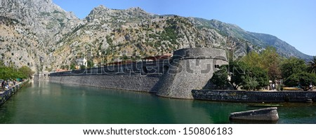 Kotor ancient walls - Montenegro
