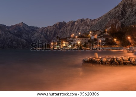 Kotor Montenegro - stock photo