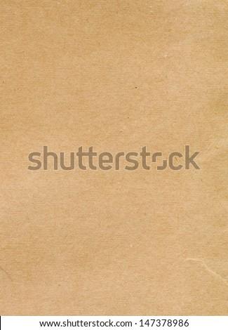 kraft paper background - stock photo