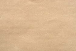 Kraft Paper Texture with horizontal stripes for background.