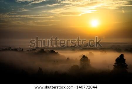 Krakow, sunrise Zdjęcia stock ©