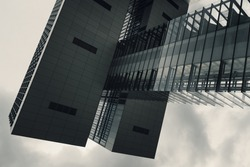 Kranhaus, Cologne - contemporary architecture