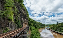 krasae cave - Death Valley Railway in Kanchanaburi , Thailand