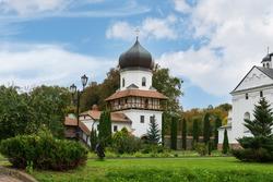 Krekhiv Monastery of St. Nicholas of the Basilian Fathers, the Ukrainian Greek Catholic Church. Monastery ensemble. Convent, religious building.
