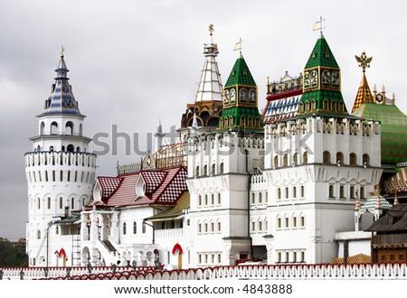 Kremlin in Izmailovo district. Moscow.