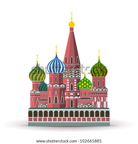 Kremlin, St. Basil Cathedral, Attraction in Moscow