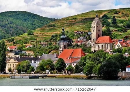 Krems an der Donau in the federal state of Lower Austria, Wachau Valley, Austria (Osterreich) Stock fotó ©