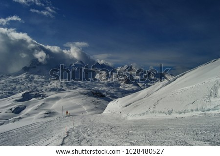 Krippenstein in austrian alps #1028480527