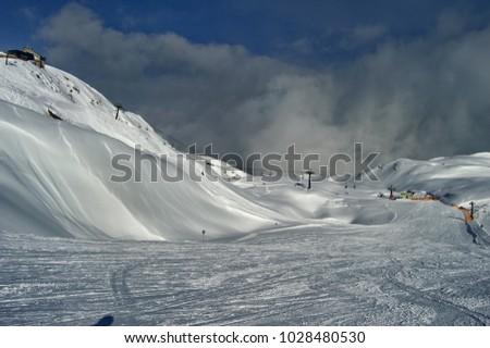 Krippenstein in austrian alps #1028480530