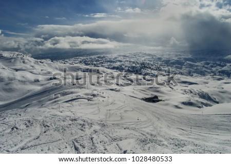 Krippenstein in austrian alps #1028480533