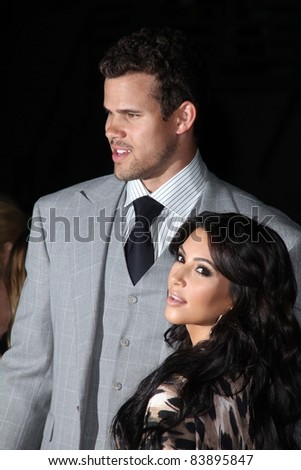Kris Humphries, Kim Kardashian at the Kardashian Kollection Launch for Sears, The Colony, Hollywood, CA. 08-17-11