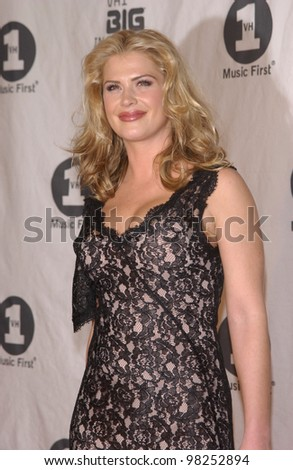 stock photo : KRISTY SWANSON at the VH-1 Big in 2002 Awards in Los