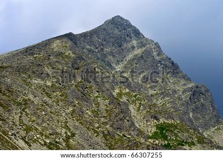 krivan mountain slovakia high tatra - stock photo