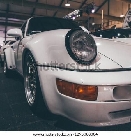 Kuala Lumpur City Centre,Kuala Lumpur - Dec 8 2018 : Porsche in car show #1295088304