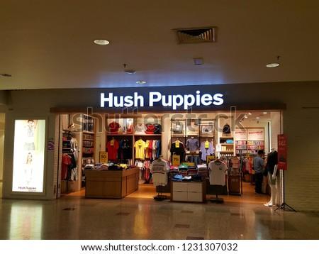 725861bcf4649a Kuala Lumpur   Malaysia - November 11 2018  Hush Puppies Store in a mall.