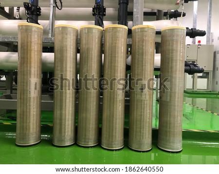 Photo of  Kuala Lumpur, 26 November,2020: Membrane for Reverse Osmosis System.