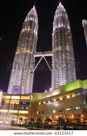 KUALA LUMPUR - OCTOBER 14: Exterior of Suria KLCC on October 14, 2010 in Kuala Lumpur, Malaysia. Suria KLCC is the ultimate luxury shopping destination in Malaysia.