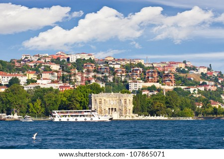 Kucuksu Pavilion Built By Sultan Abdulmecit In Istanbul ...