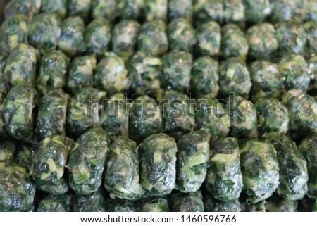 Kuicheai steamed, Steamed dumpling stuffed with garlic chives, garlic chives dim sum. #1460596766