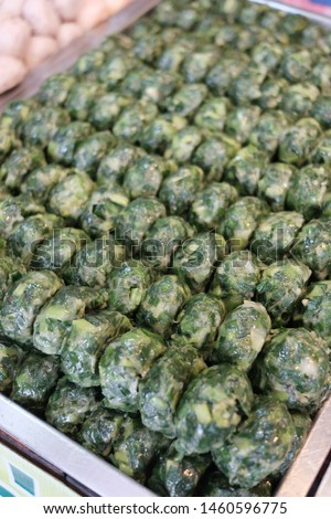 Kuicheai steamed, Steamed dumpling stuffed with garlic chives, garlic chives dim sum. #1460596775